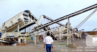 Limestone and Granite Crushing Plant in Iran