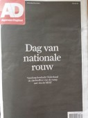 DUTCH national day of mourning......