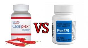 Phen375 vs Capsiplex – A Comparison Review