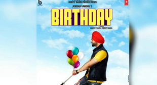 Birthday Sung by Jordan Sandhu